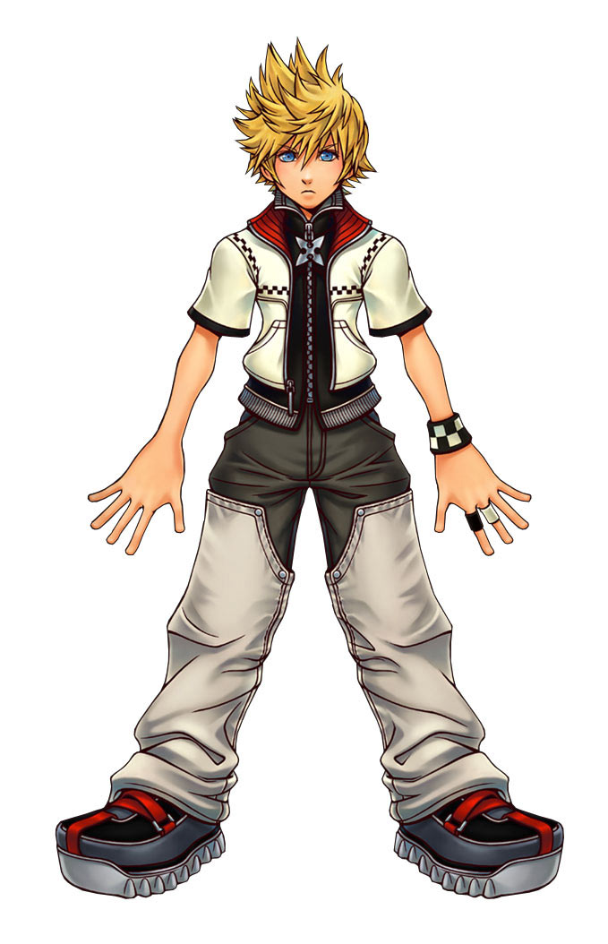 Kingdom Hearts KH2_Artwork_Roxas2