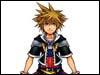 Kingdom Hearts 2 Sora Official Artwork